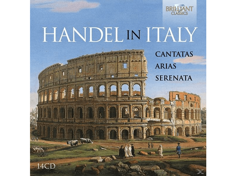 VARIOUS - Handel In Italy-Cantatas,Arias,Serenata [CD]