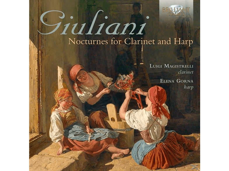 LUIGI MAGISTRELLI/ELENA GORNA - Nocturnes For Clarinet And Harp [CD]