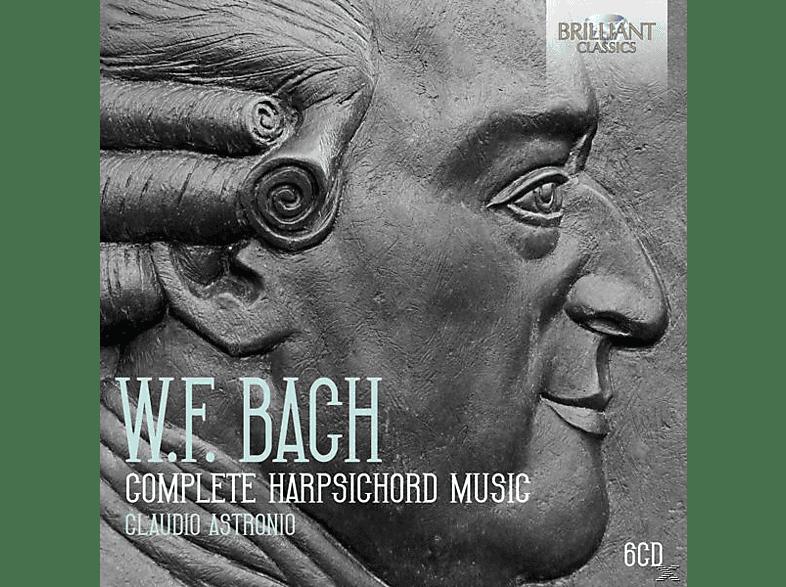 Claudio Astronio - Complete Harpsichord Music [CD]