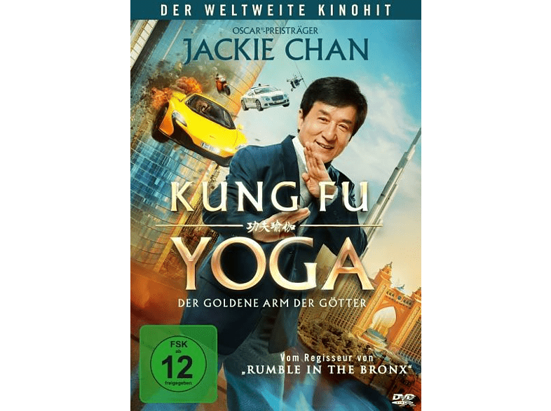Kung Fu Yoga - Der goldene Arm der Götter [DVD]