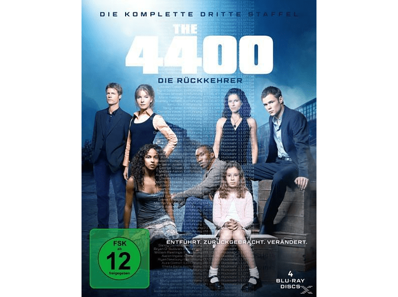 The 4400 - Die Rückkehrer - Season 3 [Blu-ray]