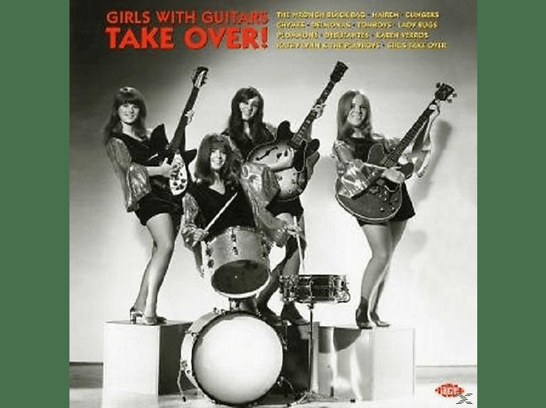 VARIOUS - Girls With Guitars Take Over! (180gr.Mandarin) [Vinyl]