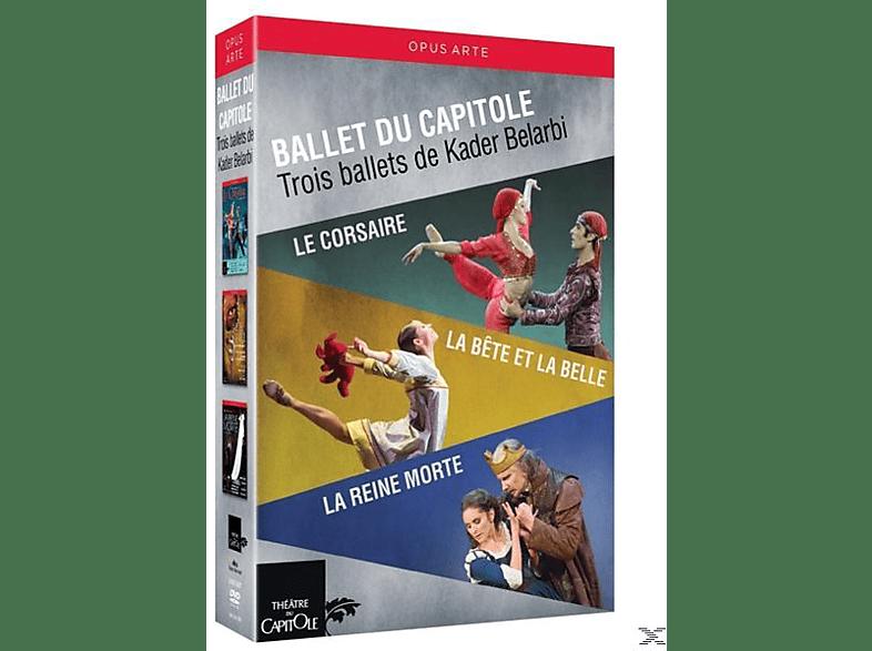 Orchestre National Du Capitole, VARIOUS - Le Corsaire/La Bete et la Belle/La Reine morte [DVD]