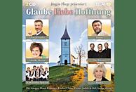 VARIOUS - Jürgen Fliege präsentiert:Glaube,Liebe,Hoffnung [CD]