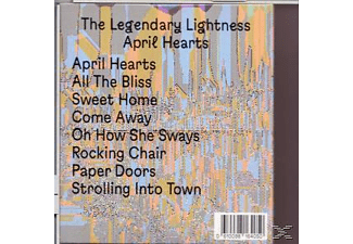 The Legendary Lightness - April Hearts  - (CD)