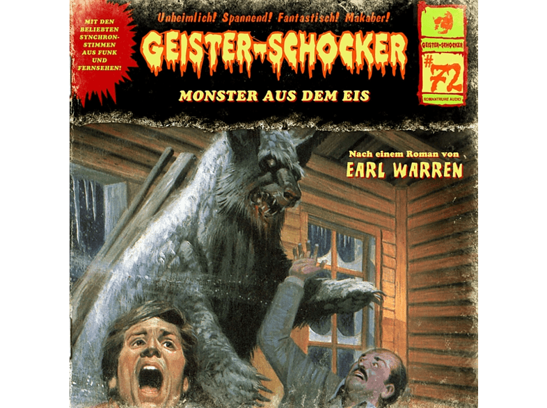 Geister-schocker - Monster Aus Dem Eis-Vol.72 - (CD)