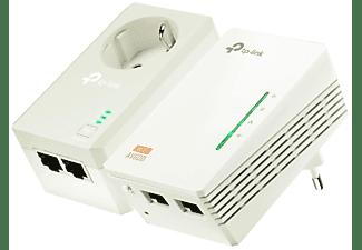 KIT Extensor Powerline AV600 Wi-fi - TP-LINK.Velocidad Powerline 500mbps + Wi-fi N300. 2 puertos