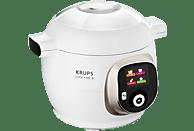 KRUPS CZ7101 Cook4Me+ Multikocher, Weiß/Grau