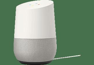 GOOGLE Home Smart Speaker mit Sprachsteuerung, weiß/grau (GA00341)