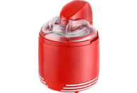 TEAM-KALORIK ICE 2500 R 2 in 1 Eismaschine (15 Watt, Rot)