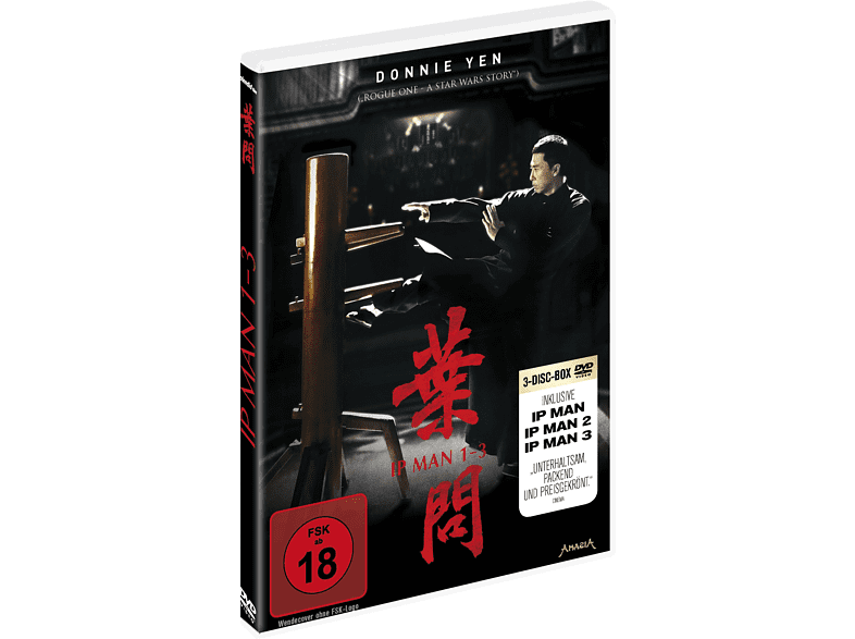 IP Man 1-3 [DVD]