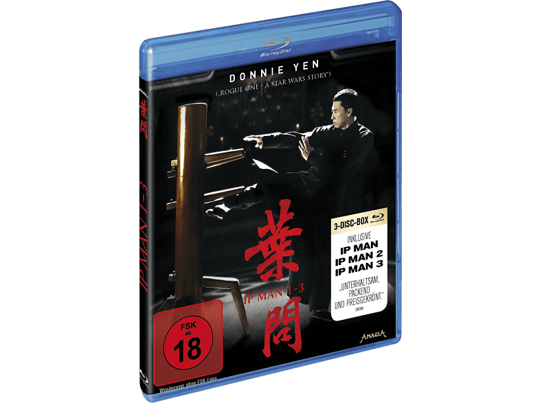 IP Man 1-3 [Blu-ray]