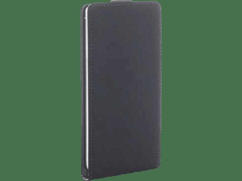 AGM 26781 , Flip Cover, Samsung, Galaxy J5 (2017), Obermaterial Kunstleder, Schwarz