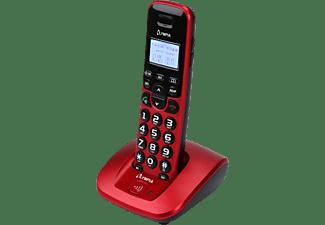 OLYMPIA Schnurlostelefon DECT 5000, rot (2272)