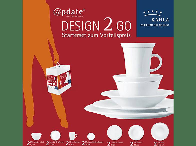 KAHLA - UPDATE Design 2 Go Set 14-tlg. Kaffee- und Tafelservice