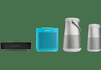 Altavoz Inalámbrico - Bose Soundlink Revolve, Sonido 360º, Bluetooth, Plata