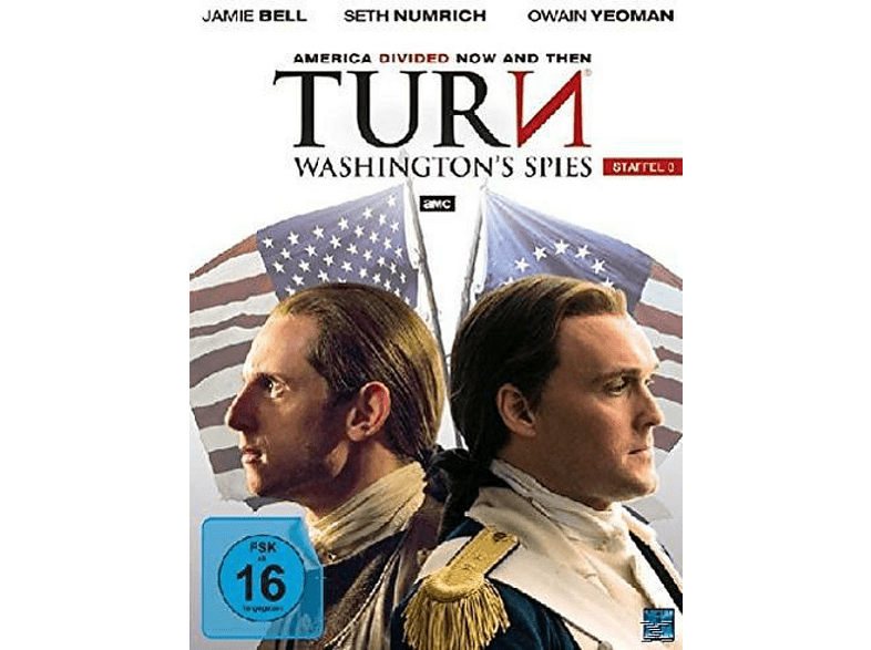 Turn Washington´s - Spies Staffel 3 [DVD]