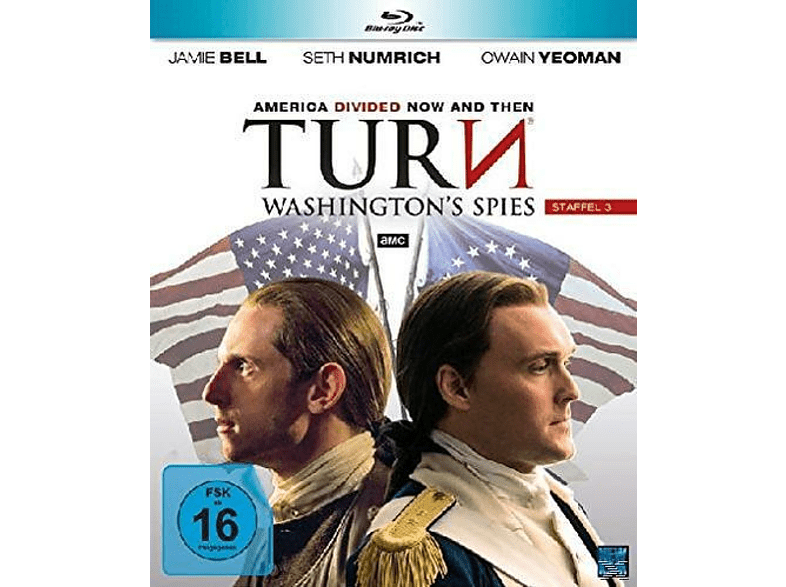 Turn Washington´s - Spies Staffel 3 [Blu-ray]