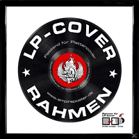 Lp-cover Rahmen - Vinyl Rahmen aus Kunststoff (Weiß) - [Sonstiges]