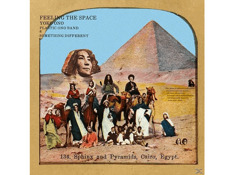 Yoko Ono - Feeling The Space (Ltd.Colored Edition) [LP + Download]