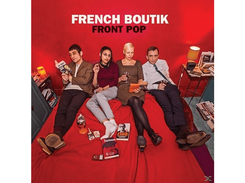 French Boutik - Front Pop (Red Vinyl) [LP + Download]