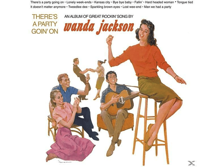 Wanda Jackson - There's A Party Going' On [Vinyl]