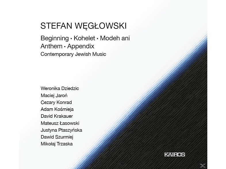 Stefan Weglowski - Contemporary Jewish Music [CD]