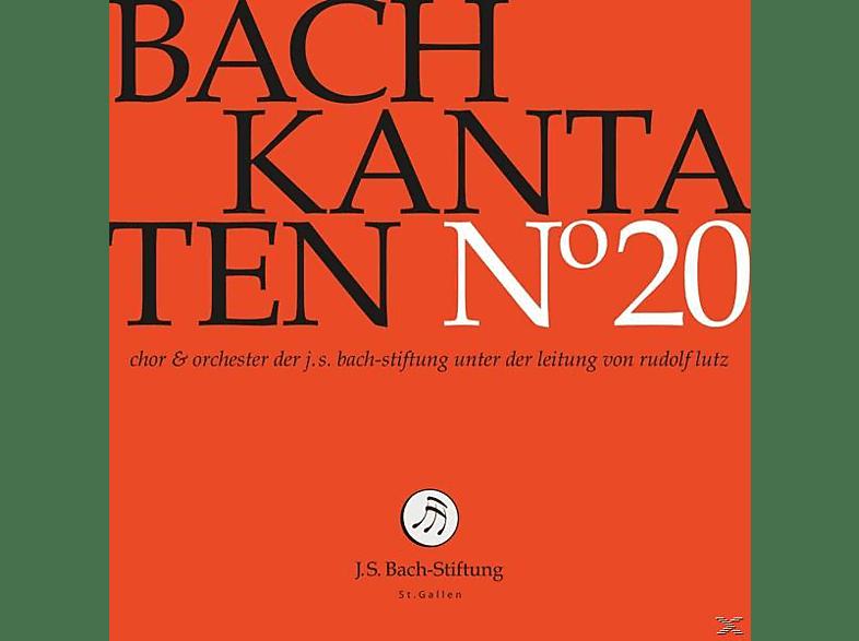Rudolf Lutz / J.S. Bach-Stiftung - Kantaten No°20 [CD]