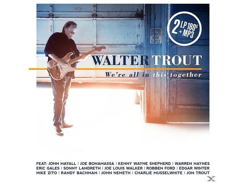 Walter Trout - We're All In This Together (2LP 180G.Gatefold+MP3) [LP + Download]