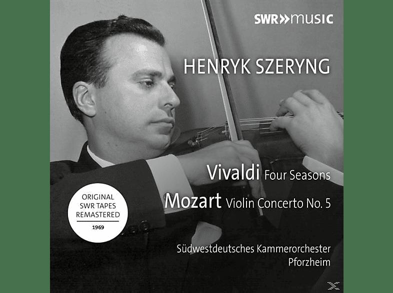 Henryk/südwestdeutsches Ko Pforzheim Szeryng - Die vier jahreszeiten/Violinkonzert 5 [CD]