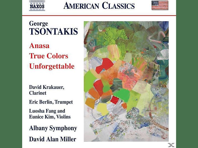D.A./Albany SO Krakauer/berlin/miller - Anasa/True Colors/Unforgettable [CD]