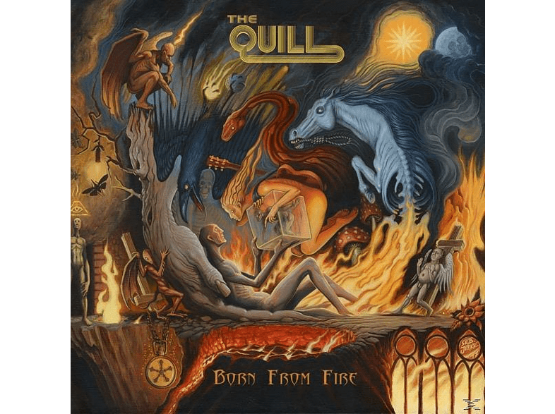 Quill - Born From Fire (Digipak) [CD]