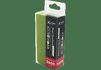 XLAYER Colour Line Powerbank 2600 mAh  Grün