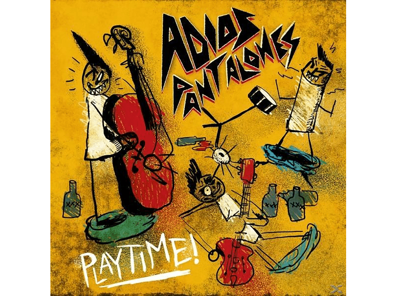 Adios Pantalones - Playtime [Vinyl]