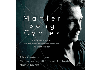 Alice Coote, Marc Albrecht, Netherlands Philharmonic Orchestra - Liederzyklen  - (SACD)