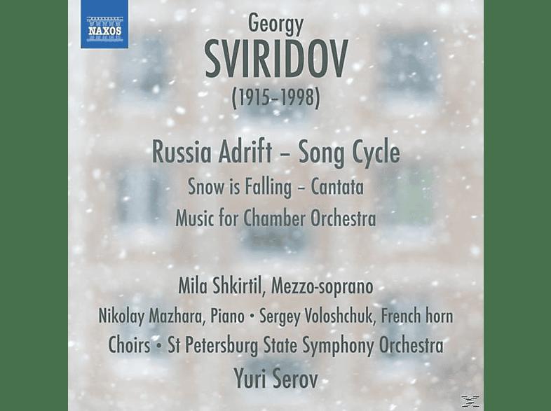 Shkirtil/Mazhara/Voloshchuk/Serov/+ - Russia Adrift/Snow is falling/+ [CD]