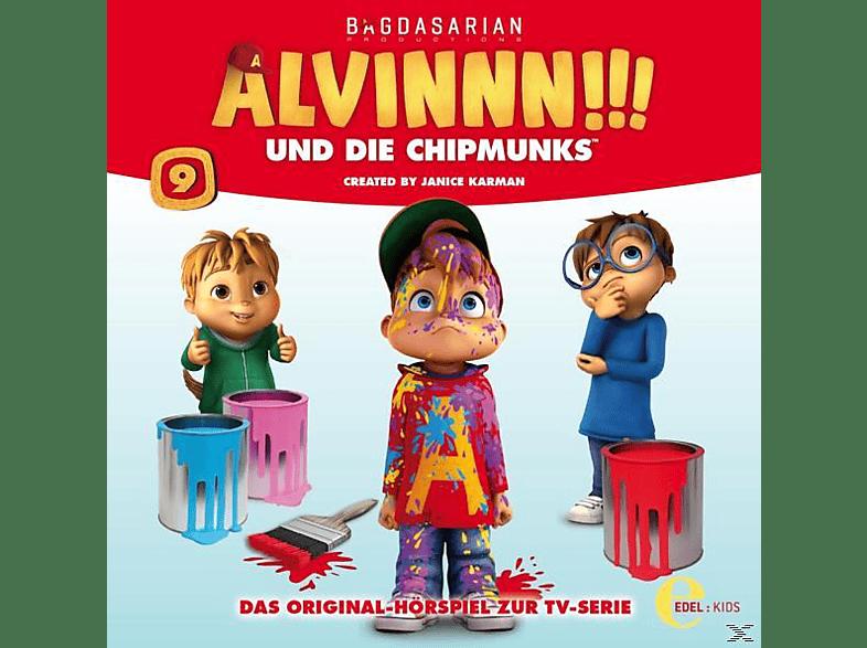 Alvinnn!!! Und Die Chipmunks - (9)HSP z.TV-Serie-Alvins Geheime Kräfte - (CD)