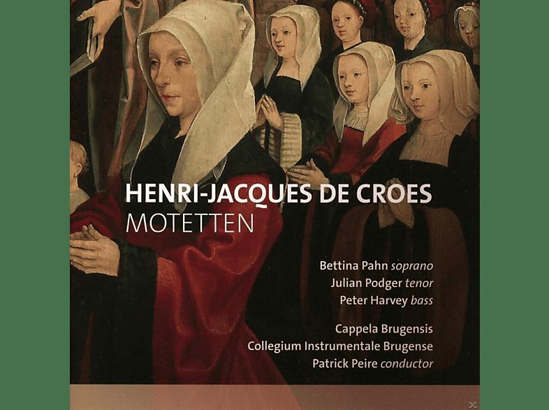 Bettina Pahn, Julian Podger, Peter Harvey, Cappela Brugensis, Collegium Instrumentale Brugense - Motetten [CD]