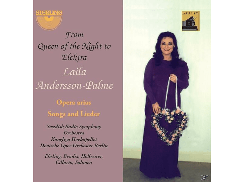 VARIOUS, Laila Andersson-palme - From Queen of the Night to Elektra [CD]