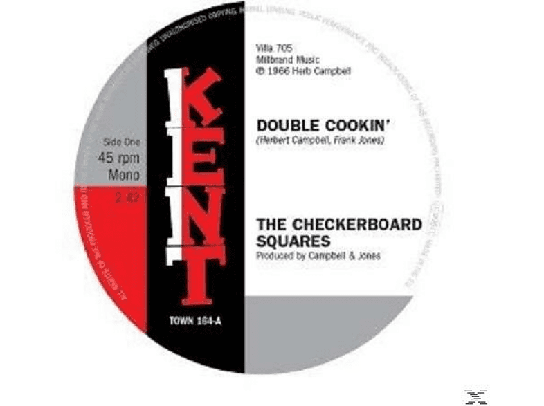 Checkerboard Squares - DOUBLE COOKIN [Vinyl]