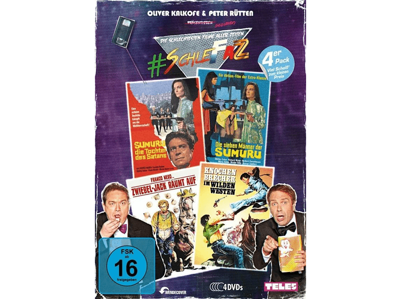 SchleFaZ Value Pack: Sumuru, Sumuru 2, Zwiebel-Jack, Knochenbrecher [DVD]