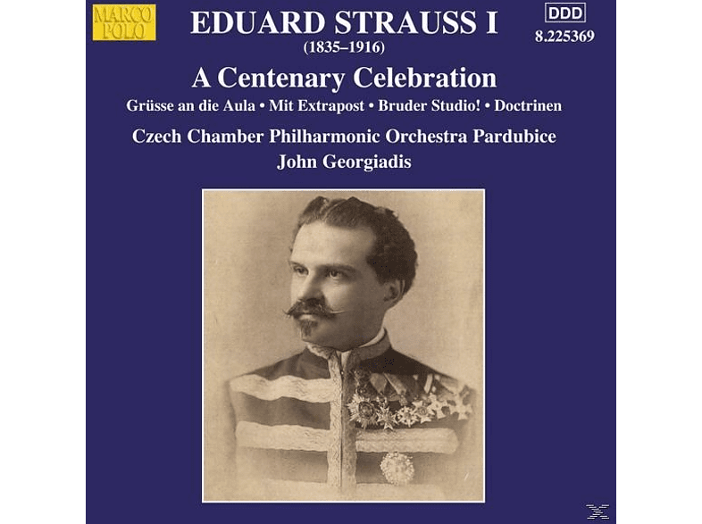 John/czech Chamber Po Pardubice Georgiadis - A Centenary Celebration [CD]