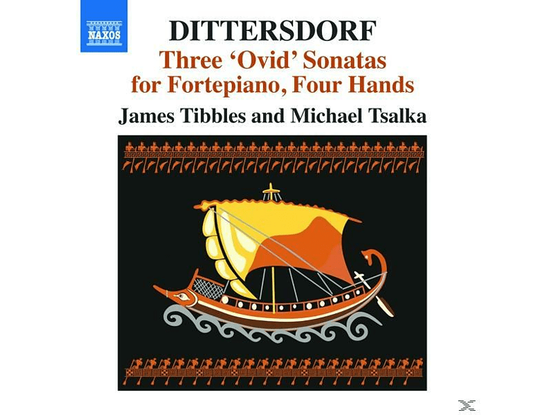 Tibbles,James/Tsalka,Michael - Drei 'Ovid' Sonaten [CD]