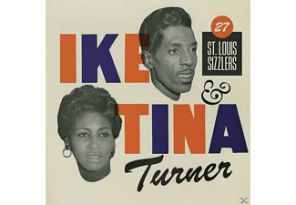 Ike & Tina Turner - 27 ST.LOUIS SIZZLERS - (CD)