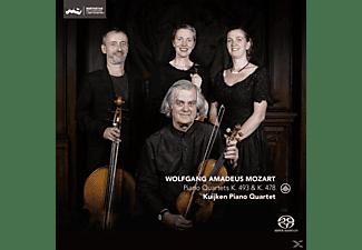 Kuijken Piano Quartet - Piano Quartets K.493 & K.478  - (SACD Hybrid)