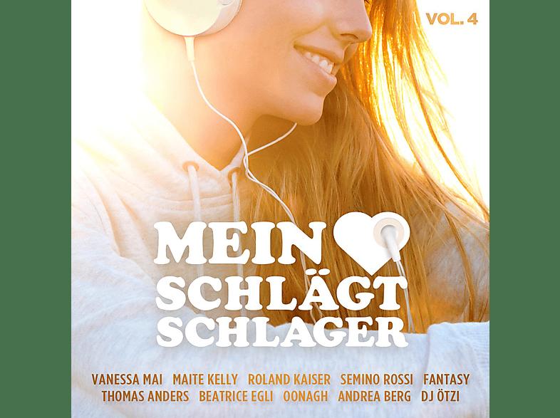 VARIOUS - Mein Herz schlägt Schlager, Vol.4 [CD]