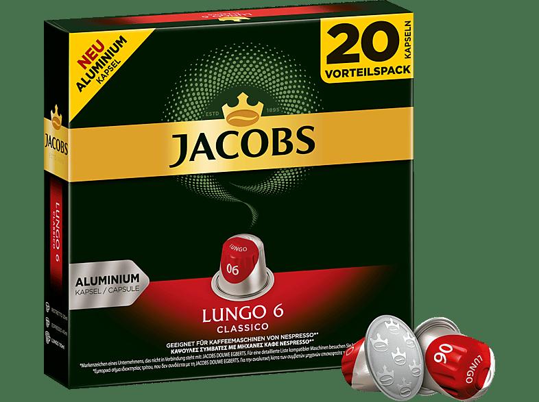 JACOBS 4057023 Lungo Classico Kaffeekapseln (Nespresso)
