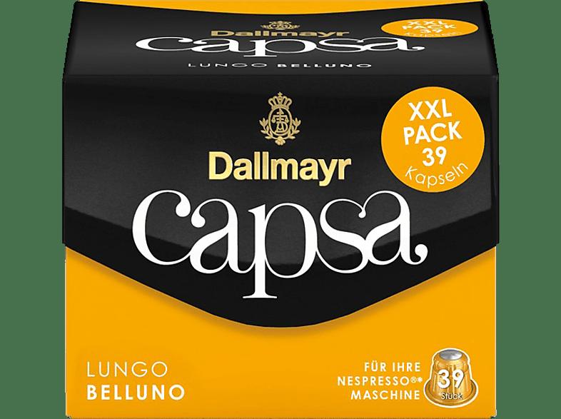 DALLMAYR Capsa Lungo Belluno XXL Kaffeekapseln (Nespresso)