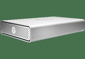 G-TECHNOLOGY G-Drive USB-C externe Festplatte 10 TB, 10 TB HDD, 3,5 Zoll, extern, Silber