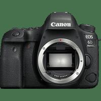 CANON EOS 6D Mark II Body Spiegelreflexkamera, Full HD, Touchscreen Display, WLAN, Schwarz